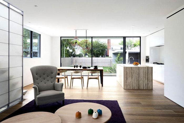 modern family home living room decor