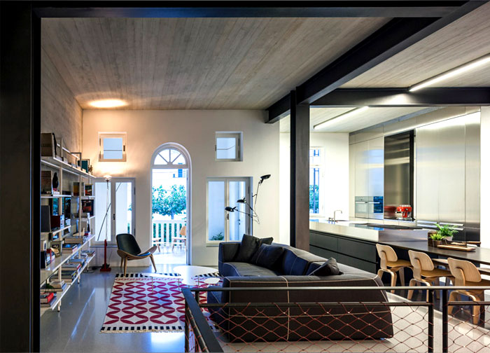 timber-imprinted-concrete-ceiling