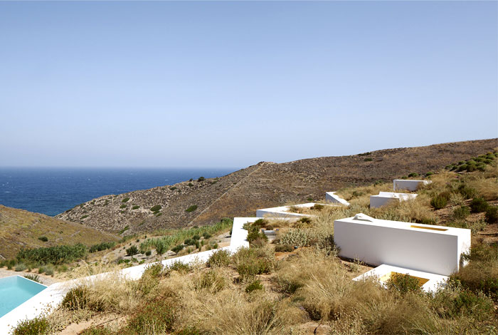 green roofs mediterranean house