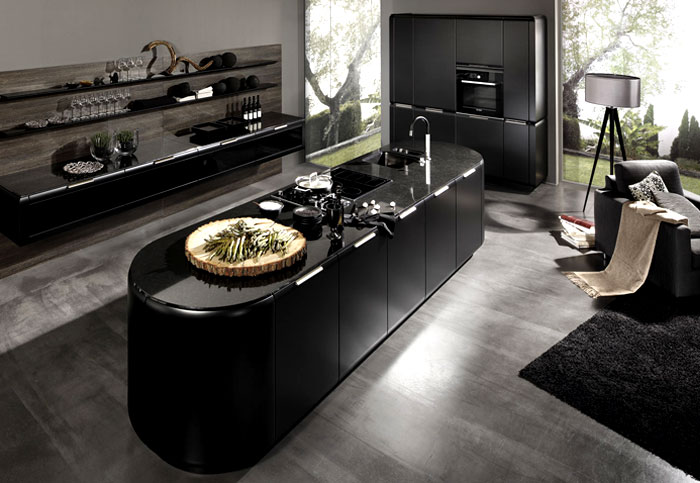 supermatt-black-kitchen