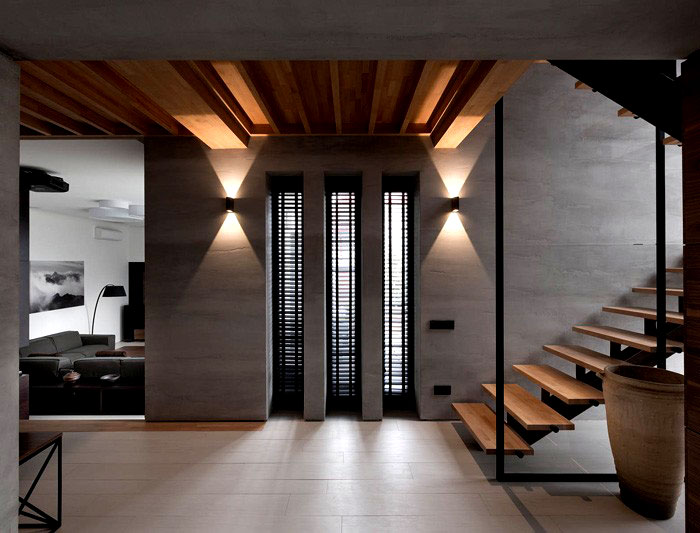 trendy functional contemporary interior
