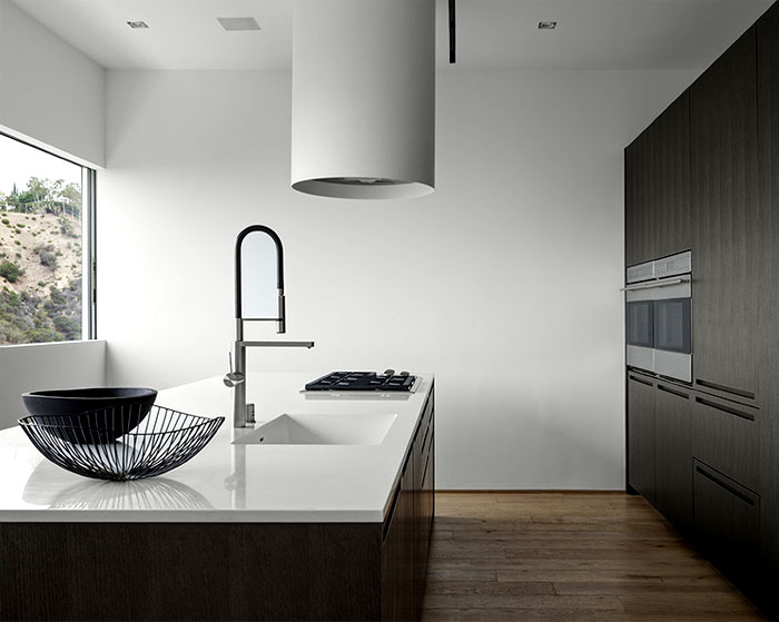 contemporary residence kitchen interior
