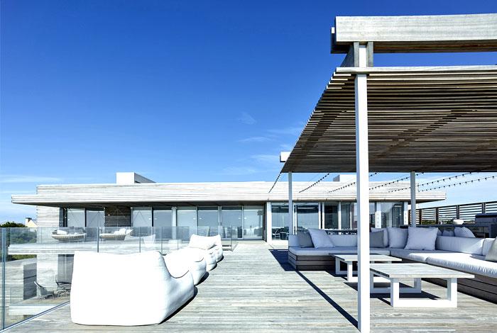 massive villa multiple wooden decks