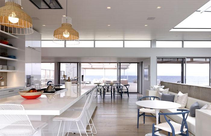 ocean deck villa kitchen interior
