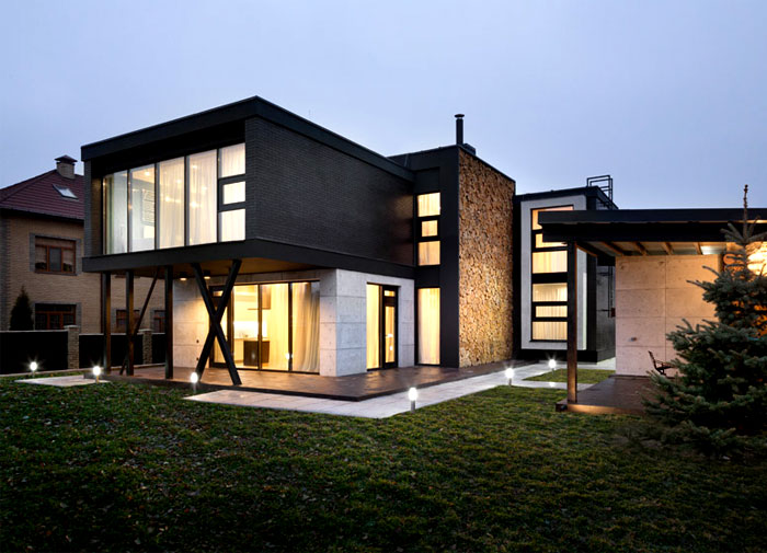 Ukraine House With Character Combination Of Contemporary And