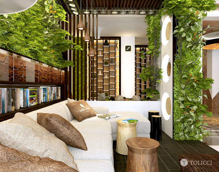 vertically living walls 1