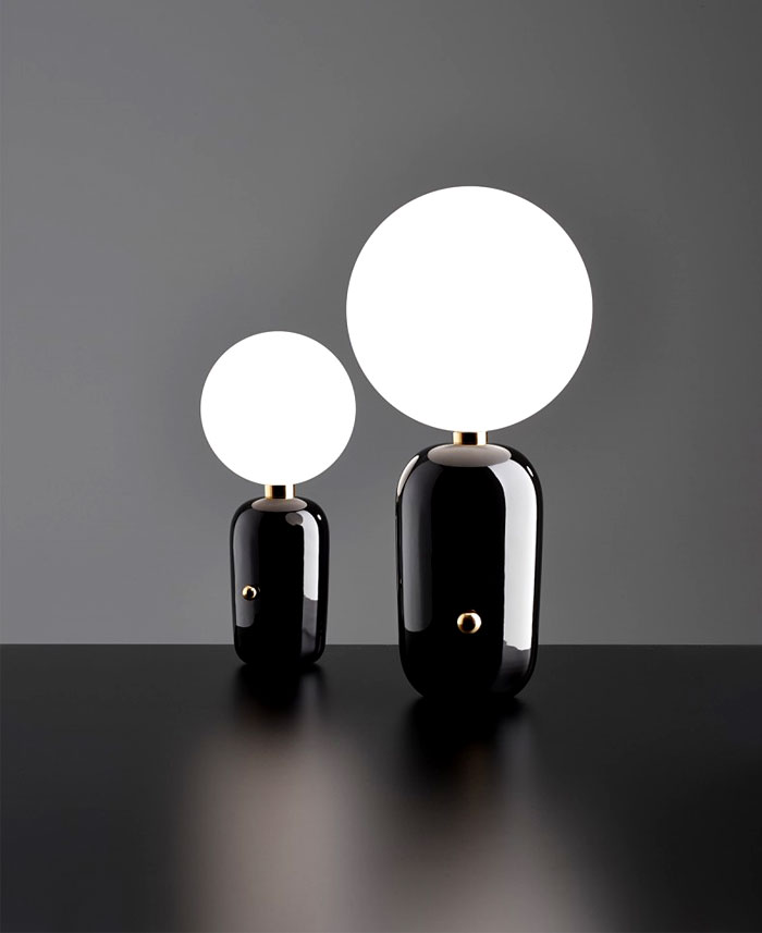 aballs table lamp black