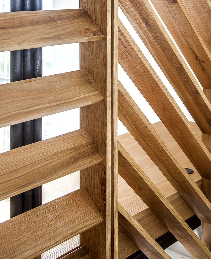 beautiful wooden structures cladding