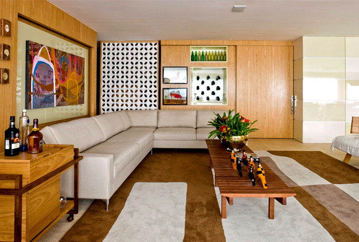 brazilian relaxed cozy home