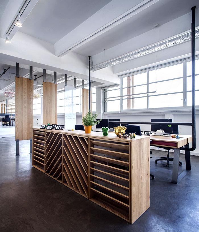 dynamic playful urban office
