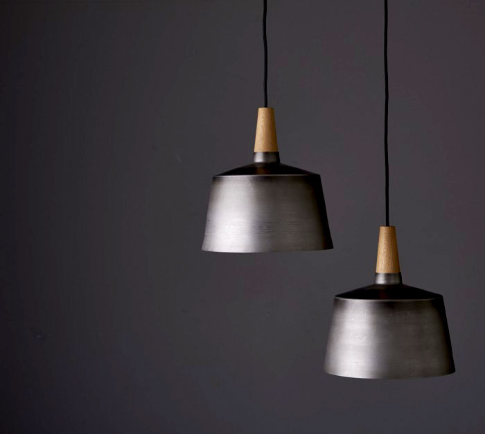 black steel timber light objects 4