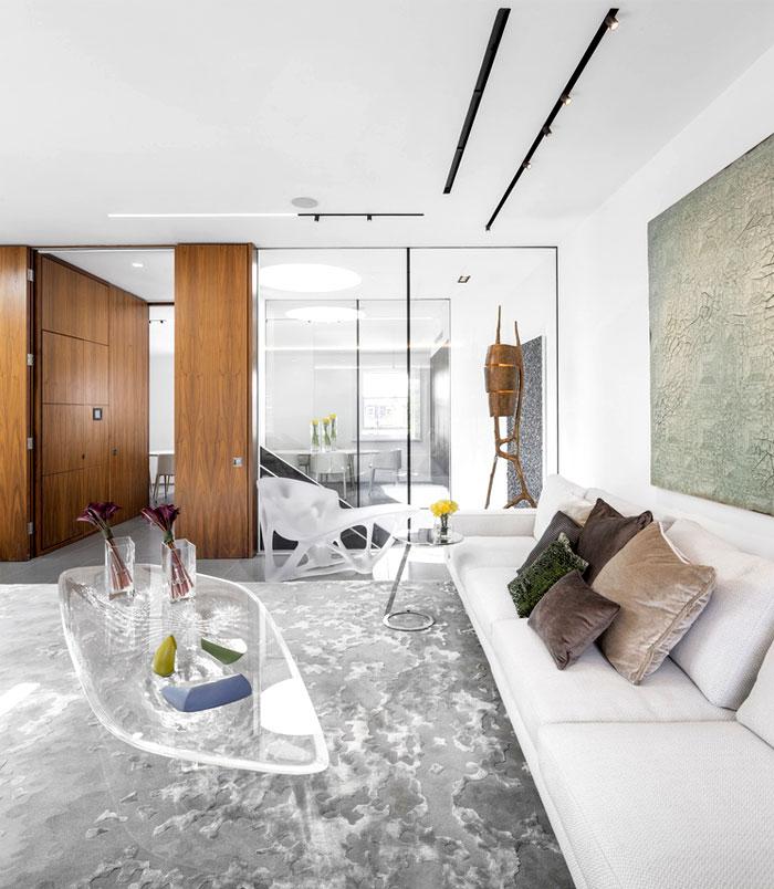 impressive beautiful interior london penthouse 1