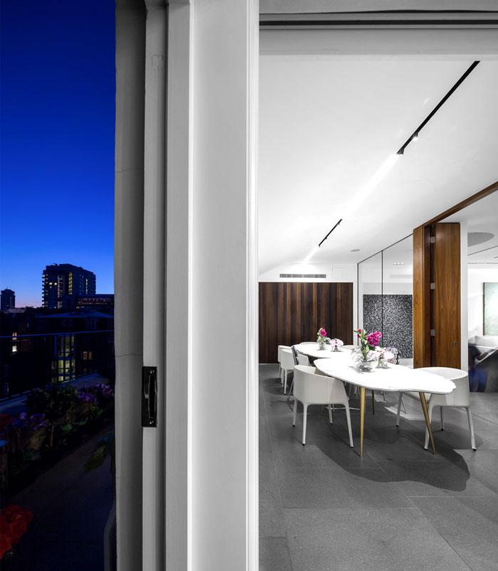 impressive beautiful interior london penthouse 12