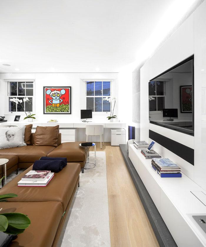 impressive beautiful interior london penthouse 3