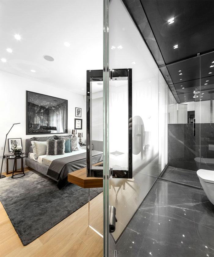 impressive beautiful interior london penthouse 5