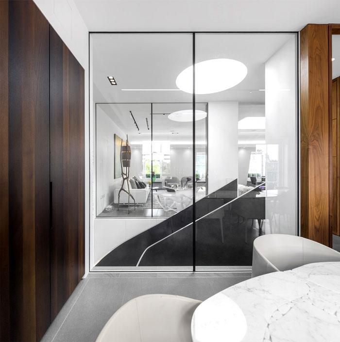 impressive beautiful interior london penthouse 8