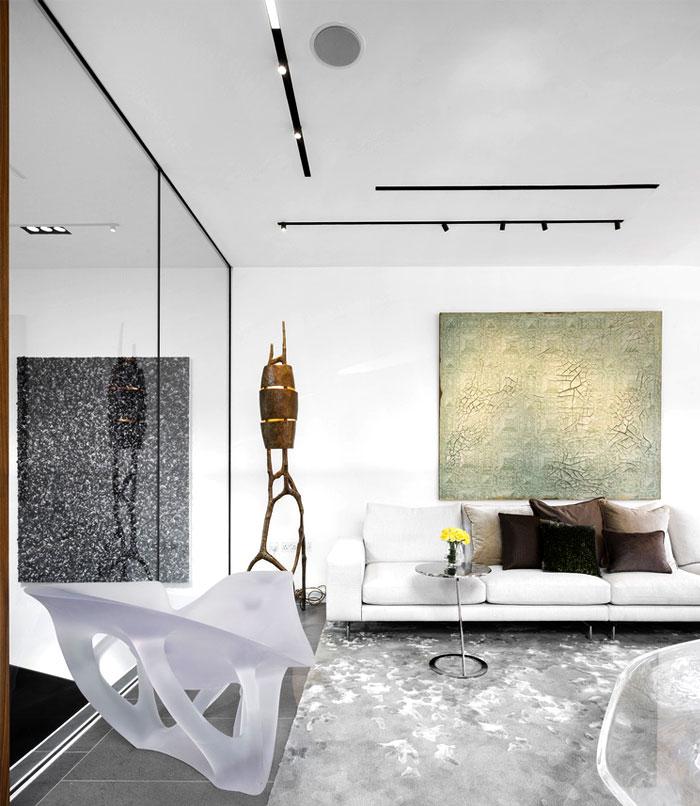 impressive beautiful interior london penthouse 9