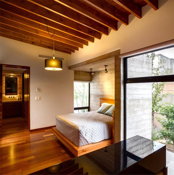 innovative contemporary house urban center 2