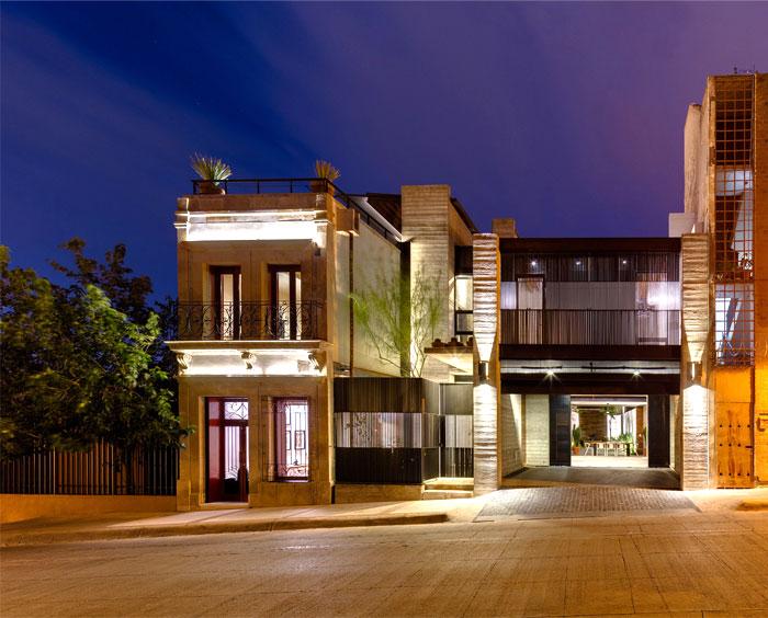 innovative contemporary house urban center 7