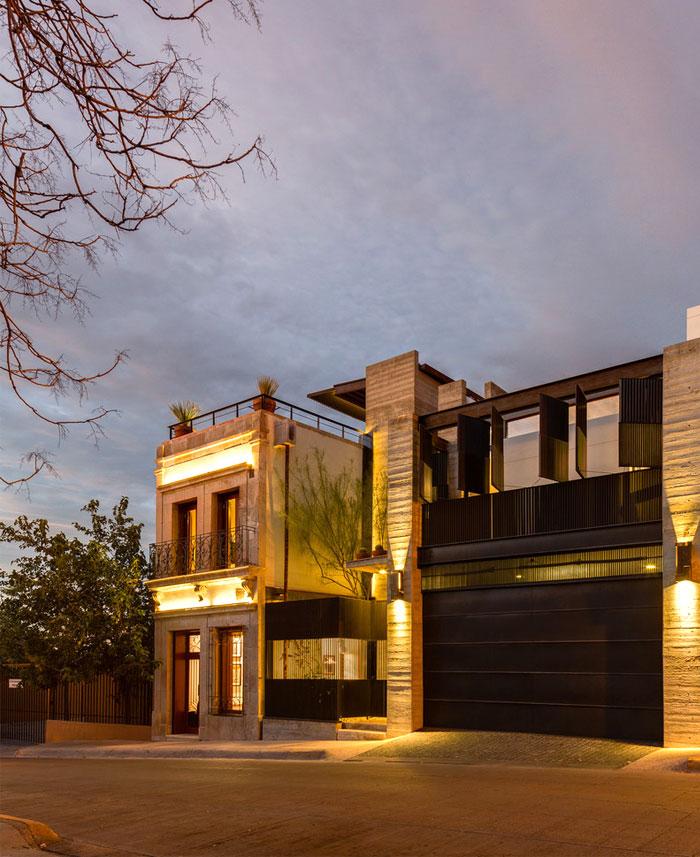 innovative contemporary house urban center 8