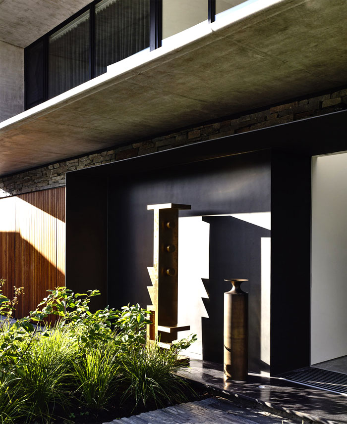 contemporary concrete house melbourne 11