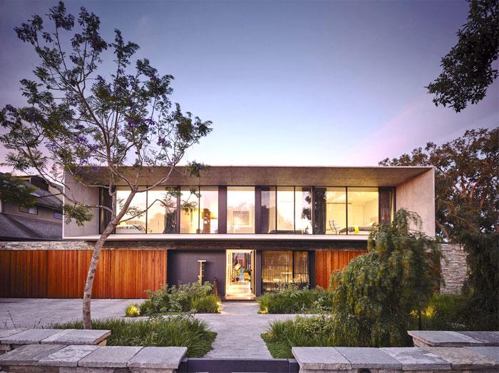 contemporary concrete house melbourne 4
