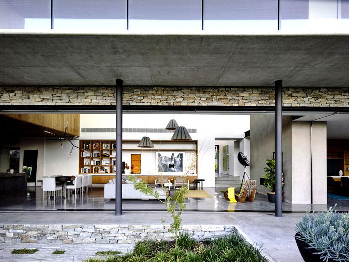 contemporary concrete house melbourne 5