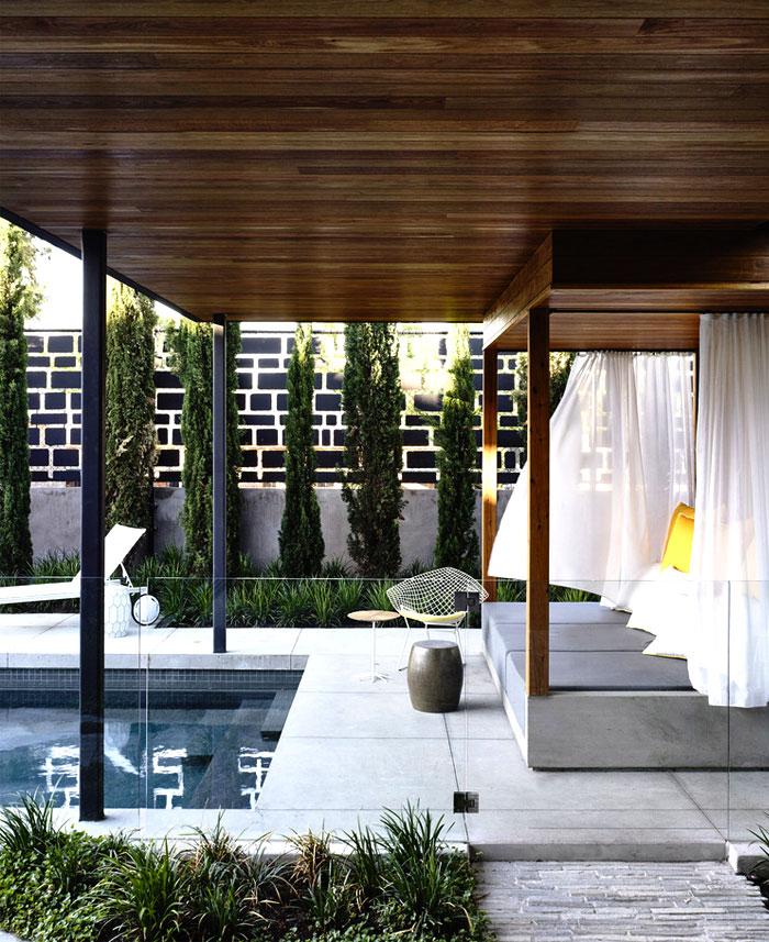 contemporary concrete house melbourne