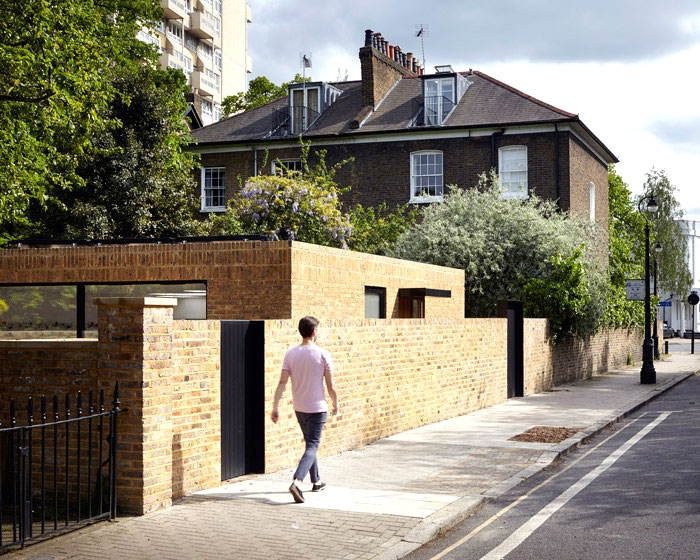 phillips tracey architects simple brick house 1