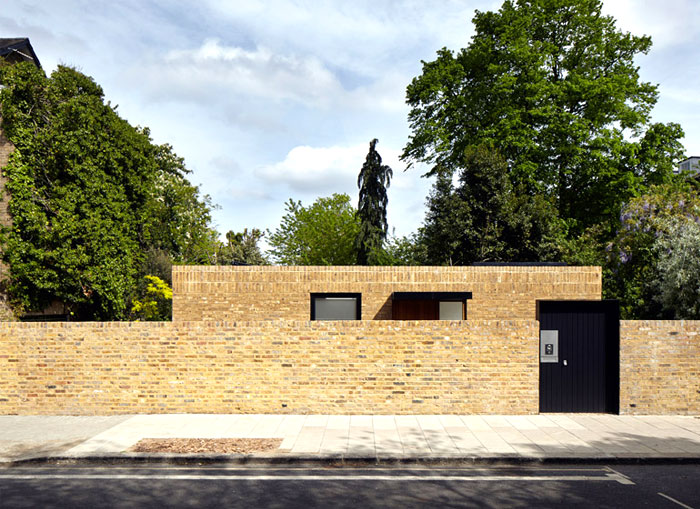 phillips tracey architects simple brick house 2