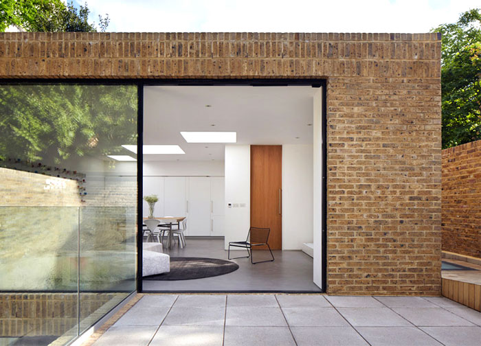 phillips tracey architects simple brick house 6