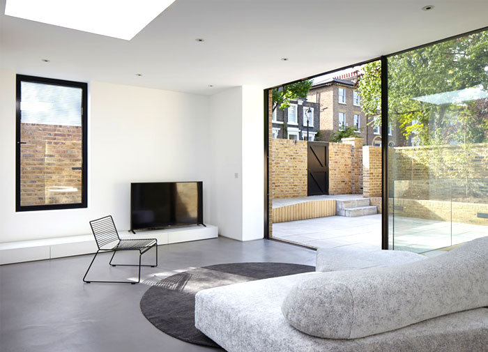 phillips tracey architects simple brick house 7
