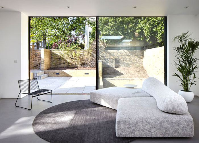 phillips tracey architects simple brick house 8