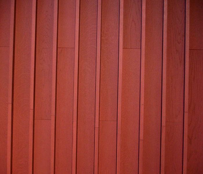 natural wooden cladding floor walls 3