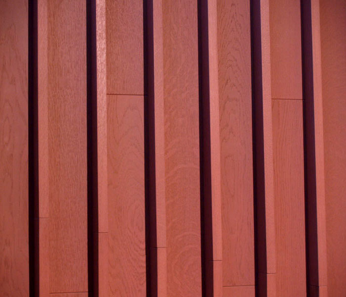 natural wooden cladding floor walls 4