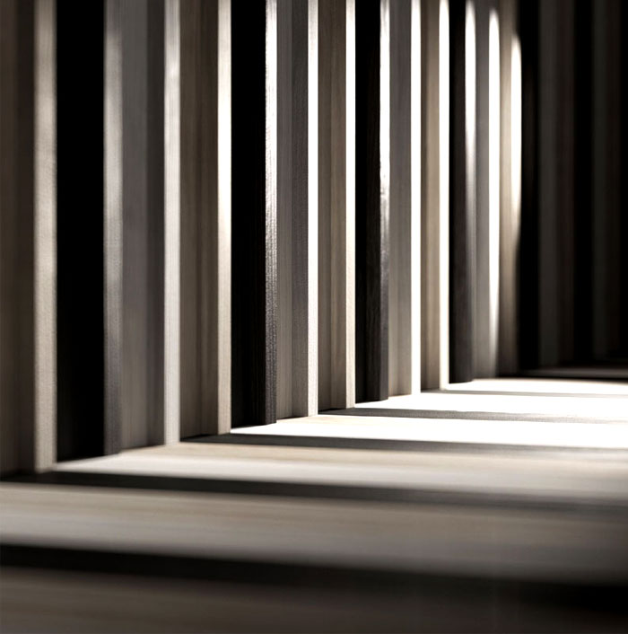 natural wooden cladding floor walls 5
