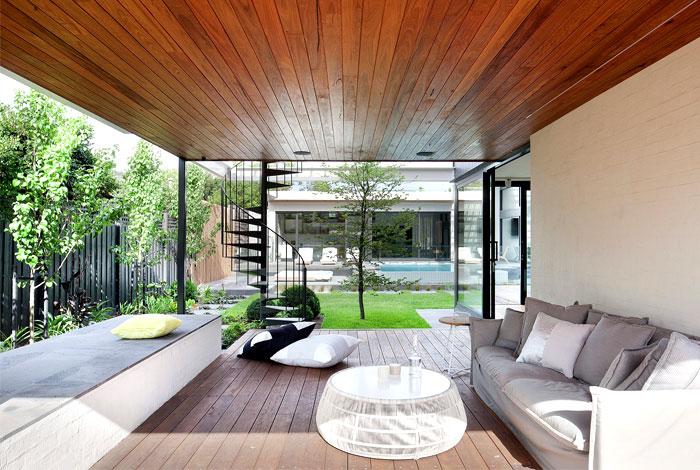 contemporary house located australia 17