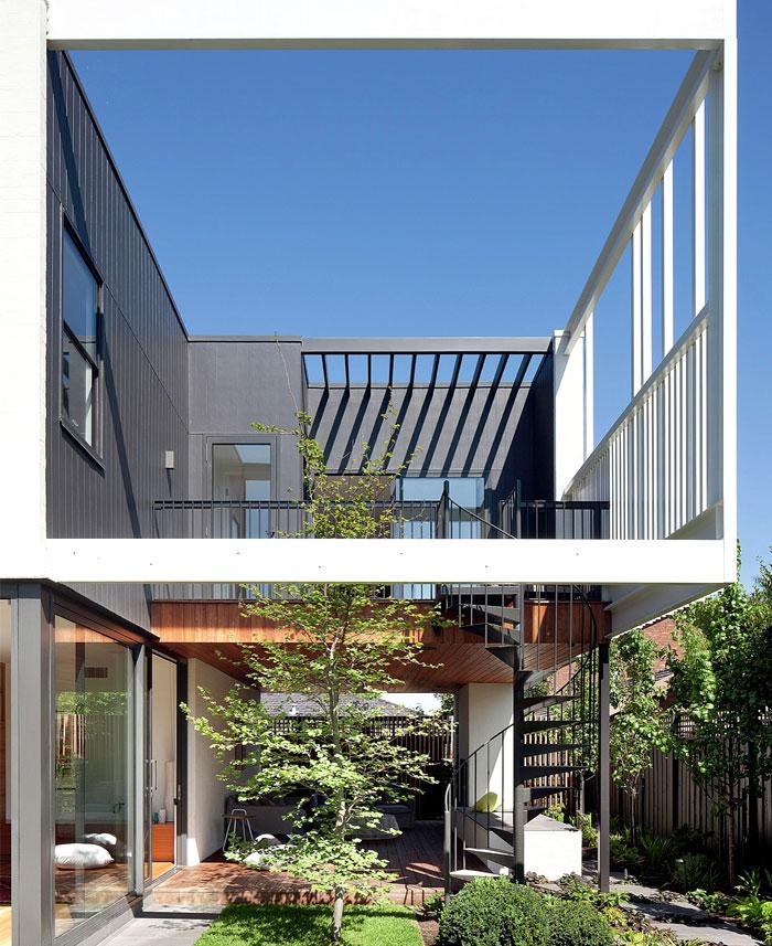 contemporary house located australia 18