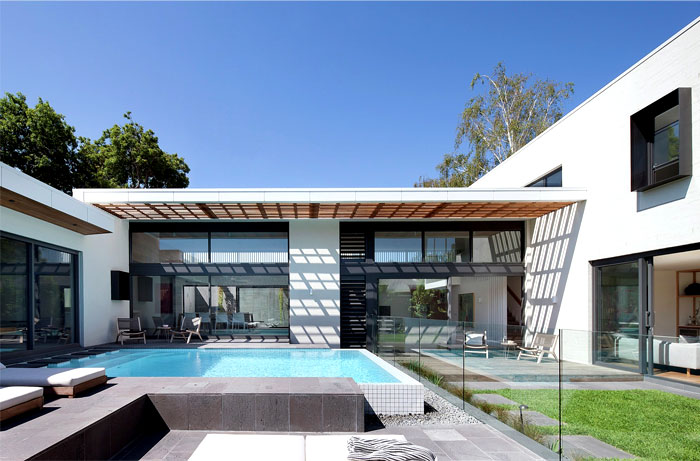 contemporary house located australia 3