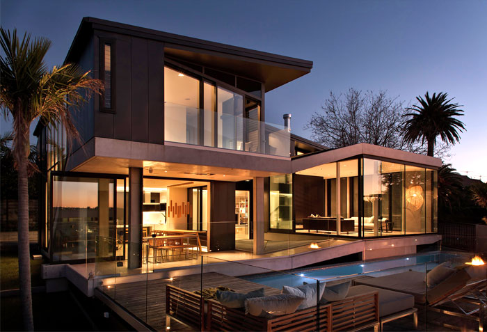 contemporary new zealand villa 1