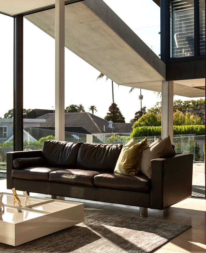 contemporary new zealand villa