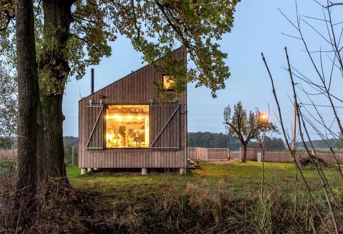 contemporary wooden house zilvar 14
