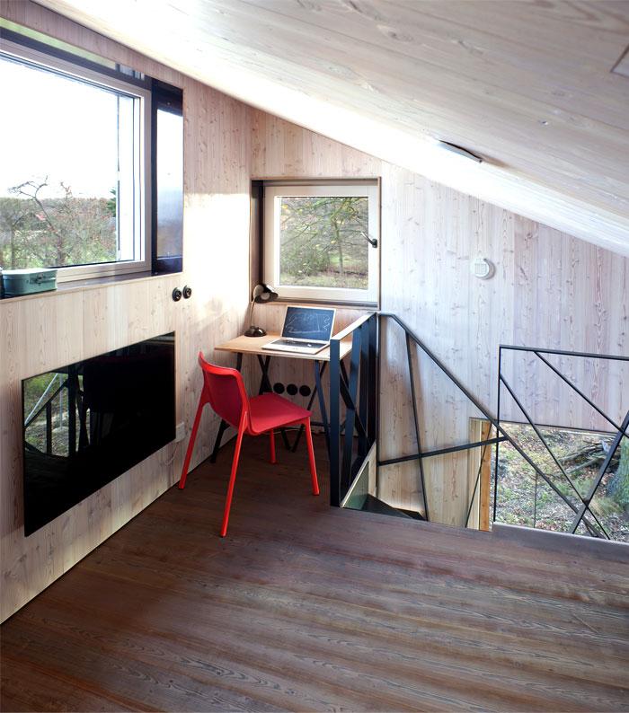 contemporary wooden house zilvar 4