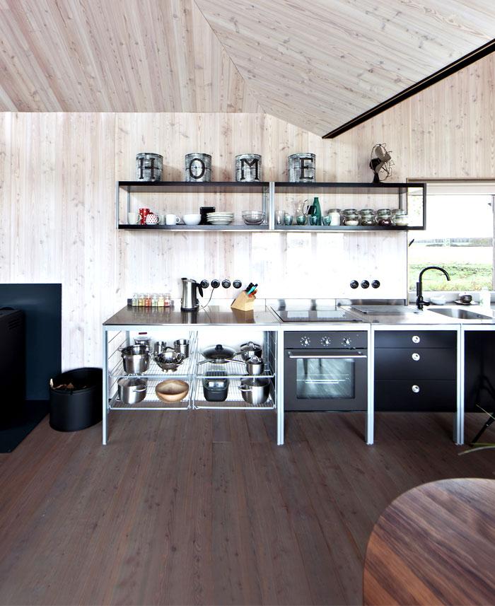 contemporary wooden house zilvar 5