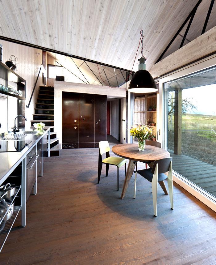 contemporary wooden house zilvar 7
