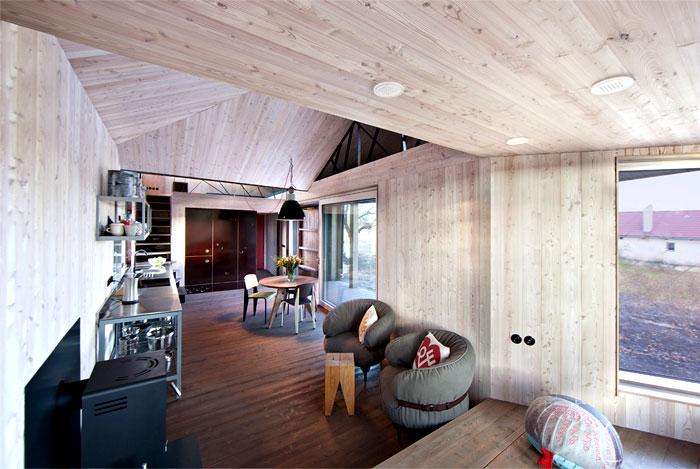 contemporary wooden house zilvar 9
