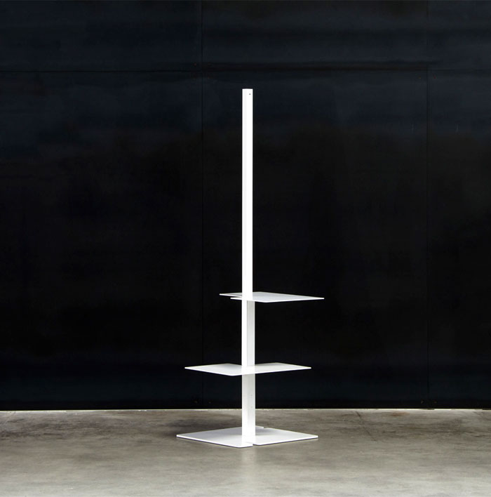 free-standing-metal-shelves