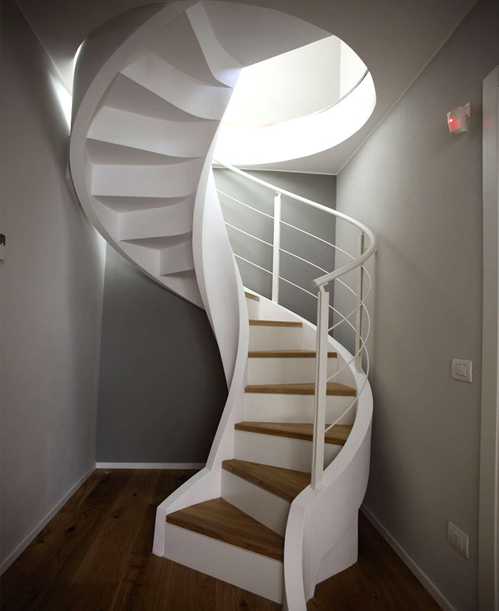 Rizzi's Spiral Staircases that Offer Great Functional