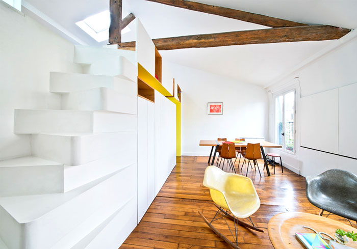 small space parisian apartment 1