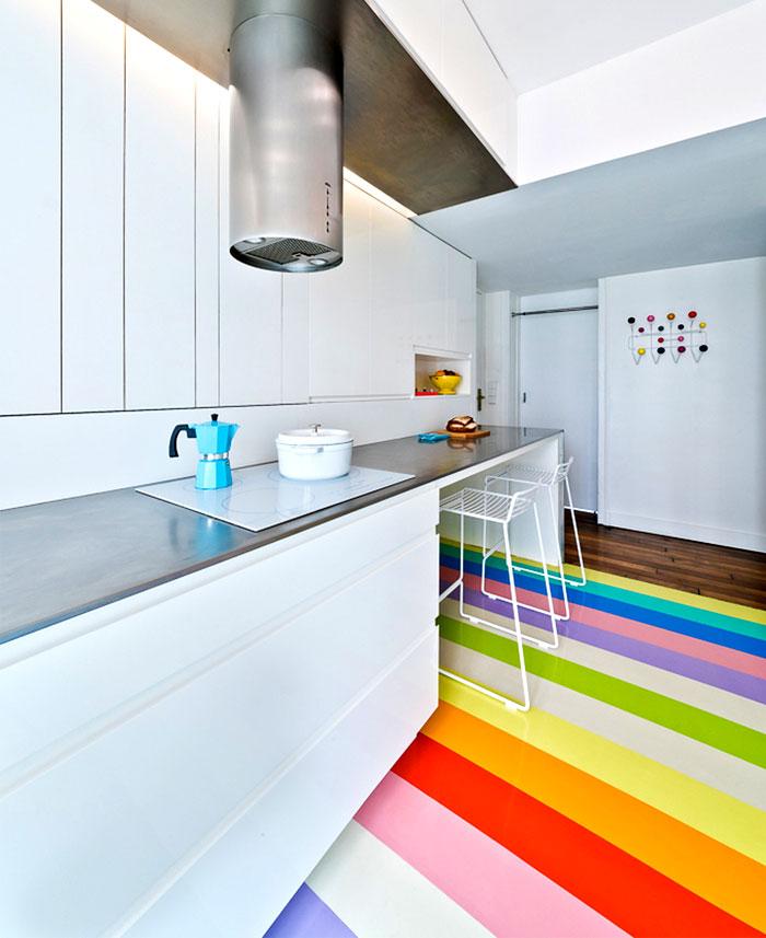 small space parisian apartment 12